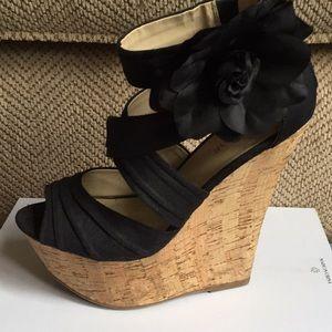 JustFab Agnese Platform Sandals